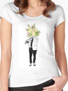 Wall Flower Women's Fitted Scoop T-Shirt