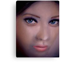 These Eyes.. Canvas Print