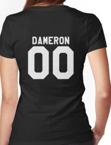 Poe Dameron Jersey Womens Fitted T-Shirt