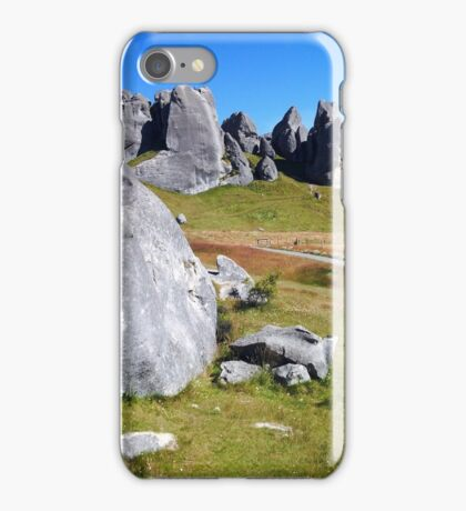 Middle Earth Rises iPhone Case/Skin
