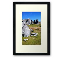 Middle Earth Rises Framed Print