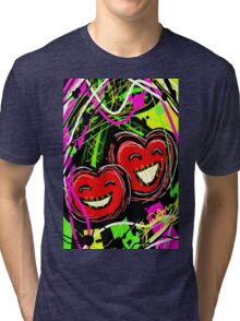 Adorable Cherry  Tri-blend T-Shirt