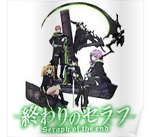 Owari No Seraph - Seraph Of The End  Poster
