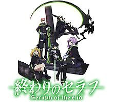Owari No Seraph - Seraph Of The End  Photographic Print