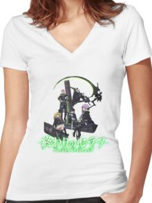 Owari No Seraph - Seraph Of The End  Women's Fitted V-Neck T-Shirt