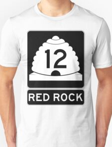 Utah 12 - Red Rock Unisex T-Shirt
