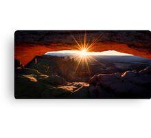 Mesa Glow Canvas Print
