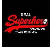 Real Superhero Photographic Print