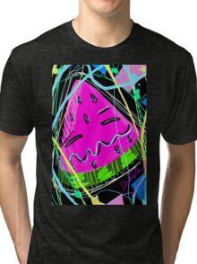 Adorable Watermelon Tri-blend T-Shirt