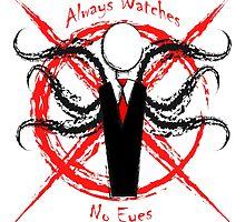 Slenderman- Always Watches, No Eyes by MxJxCo