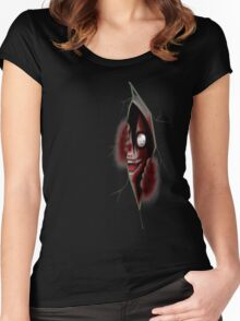 Jeff The Killer - Through The Killer Women's Fitted Scoop T-Shirt