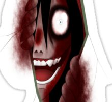 Jeff The Killer - Through The Killer Sticker
