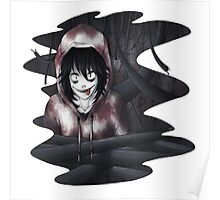 Jeff The Killer - In The Wall Poster