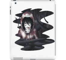 Jeff The Killer - In The Wall iPad Case/Skin