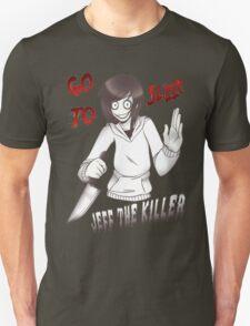 Jeff The Killer - Go To Sleep T-Shirt