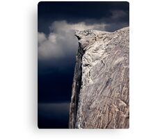 Climbers On Half Dome 2 Canvas Print