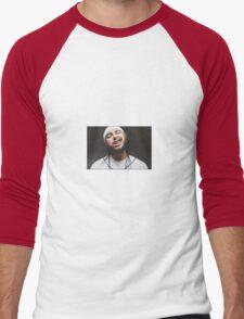 White Iverson Men's Baseball ¾ T-Shirt