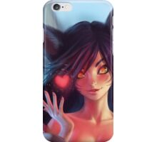 Ahri league of legends iPhone Case/Skin