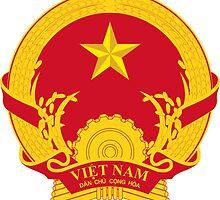 Emblem of North Vietnam, 1955-1976  by abbeyz71
