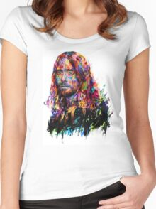 Jared Leto Women's Fitted Scoop T-Shirt