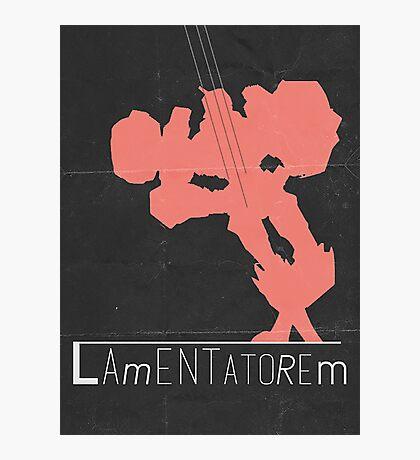Chromedome MTMTE Retro Movie Poster Photographic Print