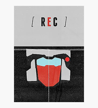 Rewind MTMTE Retro Character Poster Photographic Print