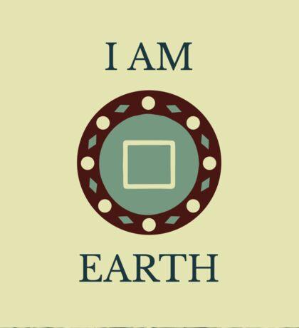 I Am Earth Sticker