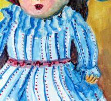 Marietjie, my pop / my doll Sticker