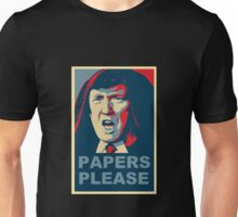 Darth Trump,  Papers Please! Unisex T-Shirt