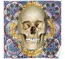 dream skull psychedelia Poster