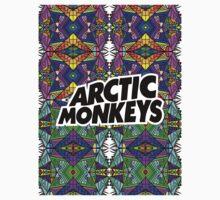 Arctic Monkeys - Trippy Pattern 2 One Piece - Short Sleeve