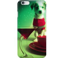 Holiday Dog iPhone Case/Skin