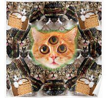 third eye ascended feline master Poster