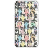 Hipster Kitties iPhone Case/Skin