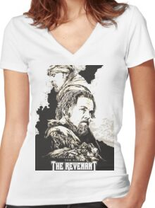 The Revenant 2016 Women's Fitted V-Neck T-Shirt