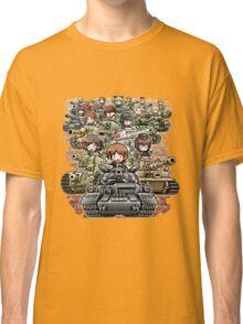 Girls und Panzer Crew Classic T-Shirt