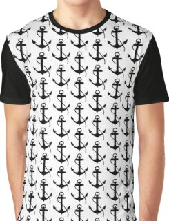 Nautical Anchor Graphic T-Shirt