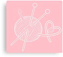 Yarn Love Canvas Print