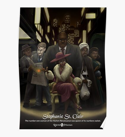 Stephanie St. Clair - Rejected Princesses Poster
