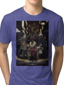 Stephanie St. Clair - Rejected Princesses Tri-blend T-Shirt