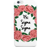 Phi Sigma Sigma iPhone Case/Skin