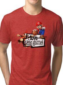 Mario Diddy Kong Tri-blend T-Shirt