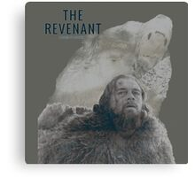 The Revenant 2016 glass and grizzly Canvas Print