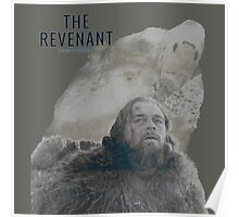 The Revenant 2016 glass and grizzly Poster
