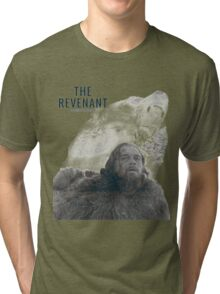The Revenant 2016 glass and grizzly Tri-blend T-Shirt