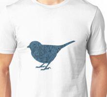 Floral Bird Unisex T-Shirt