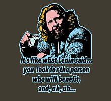 Big Lebowski Philosophy 4 Unisex T-Shirt