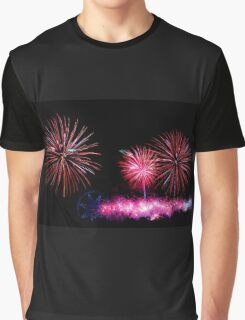 Australia Day Fireworks - Melbourne 2014 Graphic T-Shirt