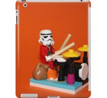 Stormtrooper plays drum iPad Case/Skin
