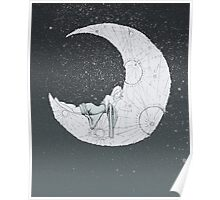 Sleeping Moon Poster